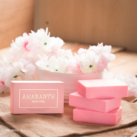 Image of Amaranth Rosy Peel - Intense Whitening Soap