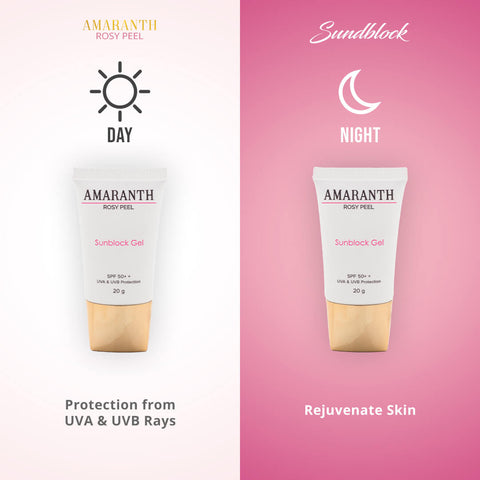 Image of Amaranth Rosy Peel Beauty Set - Ultimate Beauty Regimen