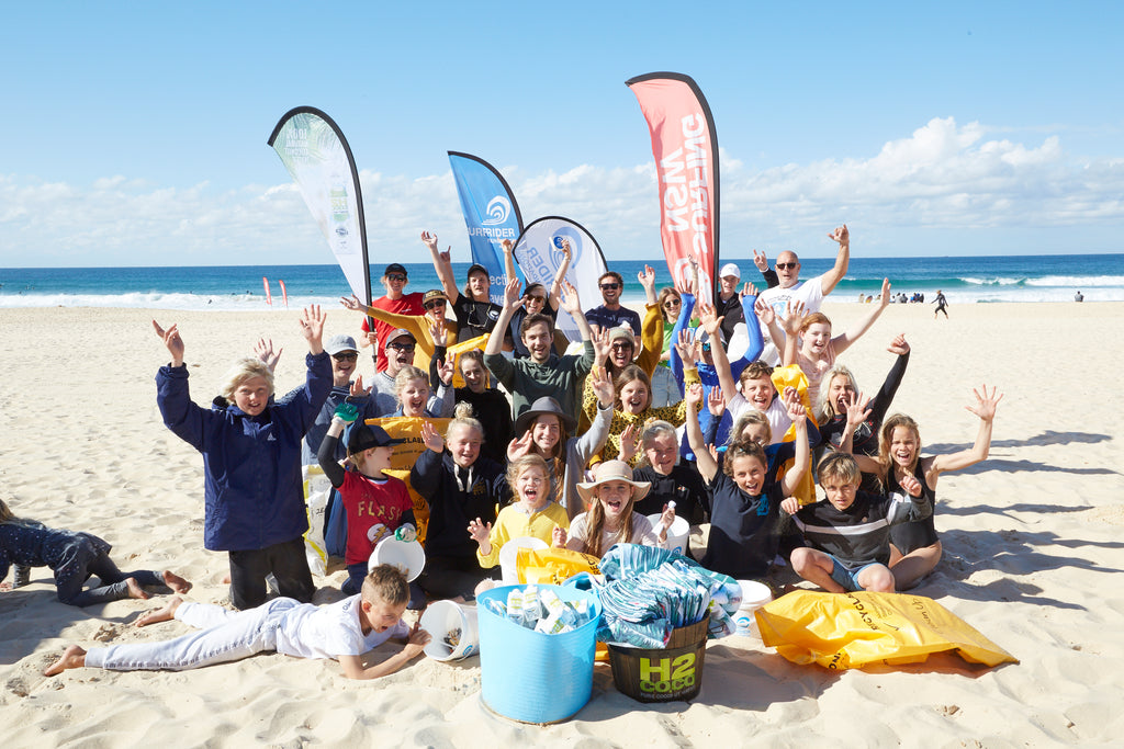 Maroubra Beach Left Spotless after the very First #surfsupcleanup Event!