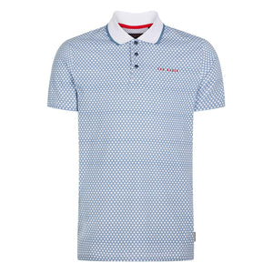 Ted Baker Hazelnt Polo - Mid Blue