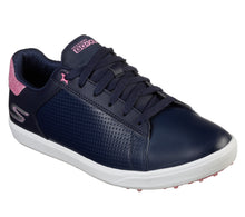 Skechers Ladies UltraFlight Drive - Shimmer - Navy/Pink