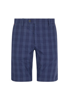 Ted Baker Twopak Checked Short - Navy