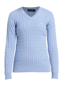 Rohnisch Cable Pullover - Light Blue