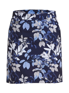 Rohnisch Kia Skort - Navy Leaves
