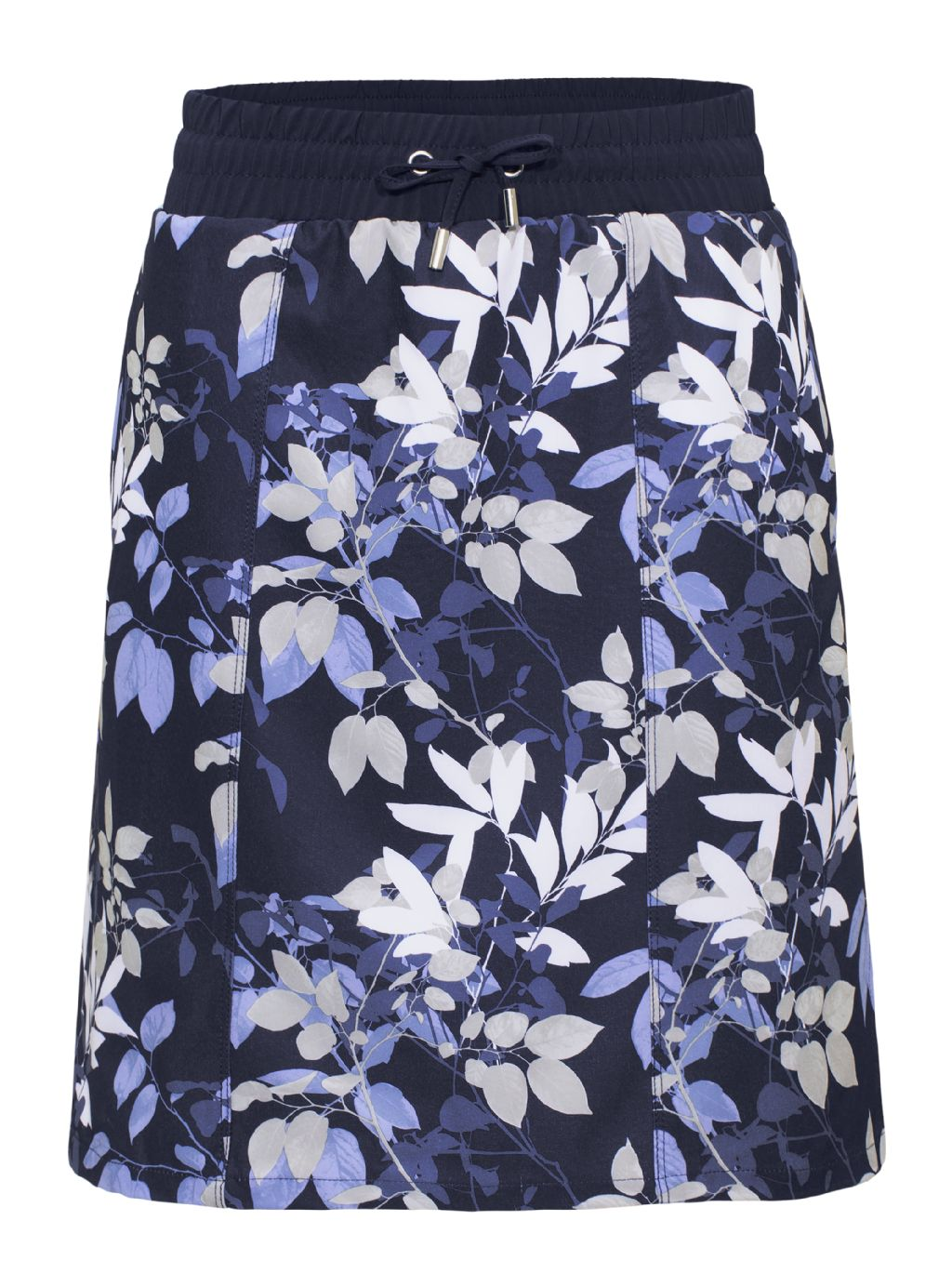 Rohnisch  Comfort Skort - Navy Leaves