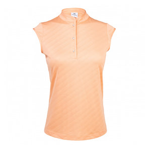 Daily Sports Lorin Cap Sleeve Polo - Blossom