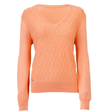 Daily Sports Amie V Neck Jumper in Blossom