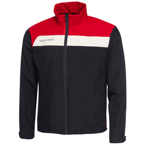 Galvin Green Austin Jacket GTX - Black/Red/Snow