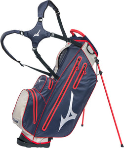 Mizuno BR-DRI Stand Bag 2019 - Navy/Red