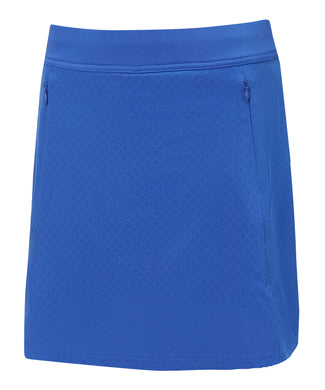 Callaway Ladies Fastrack Perforated Skort - Amparo Blue