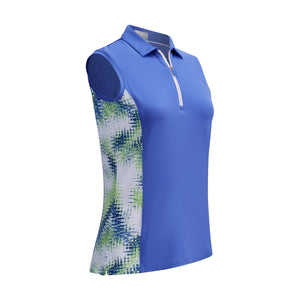 Callaway Ladies SL Starburst Polo - Amparo Blue
