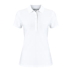 Callaway Ladies SS Hex Polo - Bright White