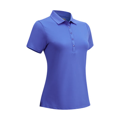 Callaway Ladies SS Hex Polo - Amparo Blue