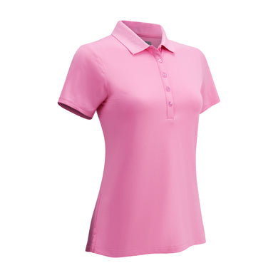 Callaway Ladies SS Hex Polo - Fuchsia Pink