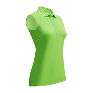 Callaway Ladies SL Hex Polo - Jasmine Green