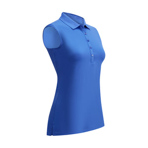 Callaway Ladies SL Micro Hex Polo - Amparo Blue