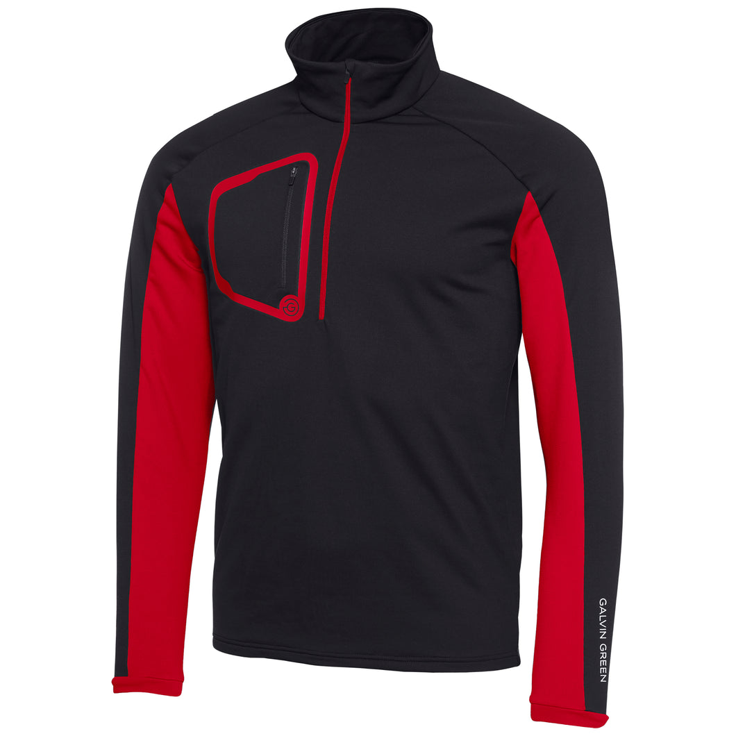 Galvin Green Diego Pullover Insula - Black/Red