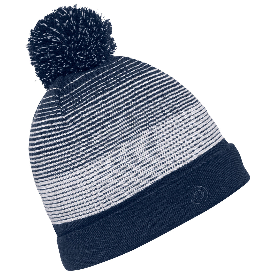 Galvin Green Louise Bobble Hat I/F - Navy/White