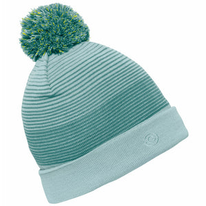 Galvin Green Louise Bobble Hat I/F - Misty Green/Sea pine