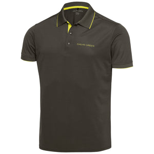 Galvin Green Marty Tour Polo V8+ - Beluga/Lemonade