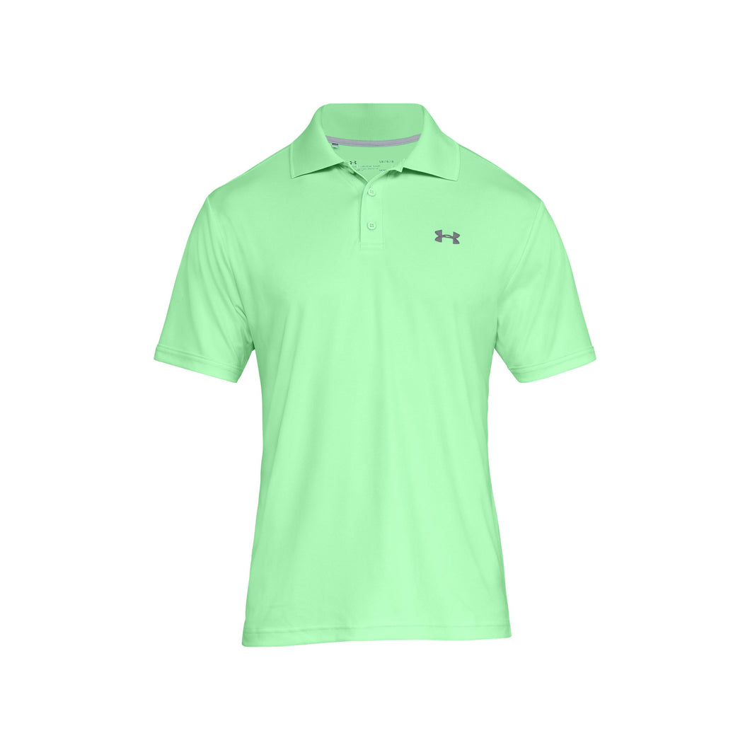 Under Armour Men's Performance Polo - Green Typhoon