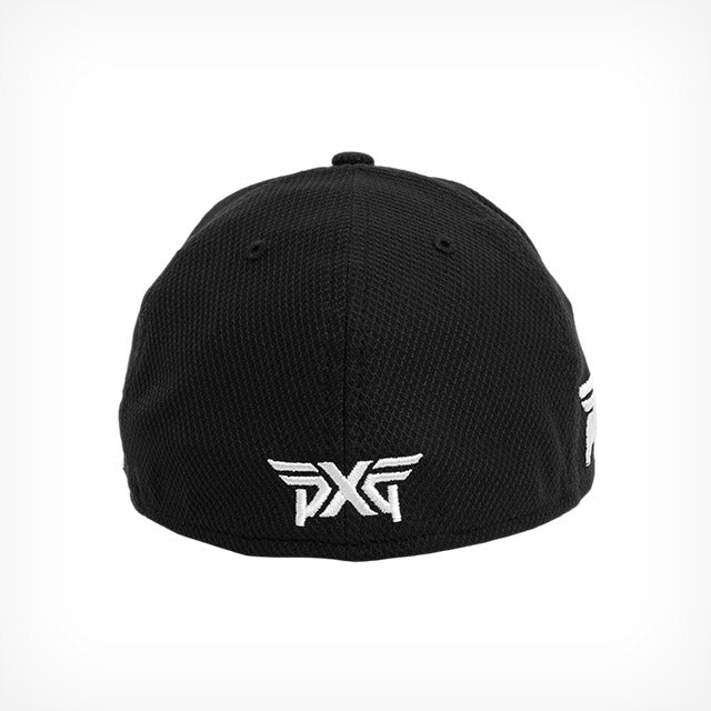 PXG Diamond Era Fitted Hat - Black – golfaddictionuk 2f547466cd2
