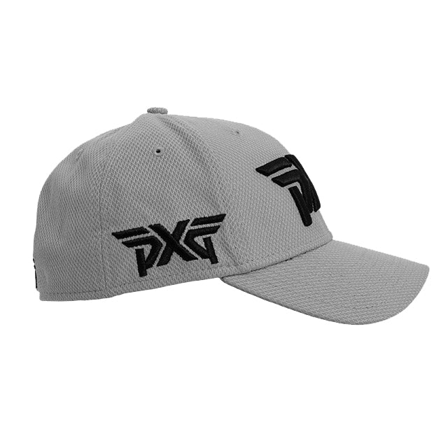 PXG Diamond Era Fitted Hat - Grey – golfaddictionuk 894b6623eff