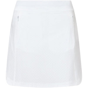 Callaway Ladies Fastrack Perforated Skort - White