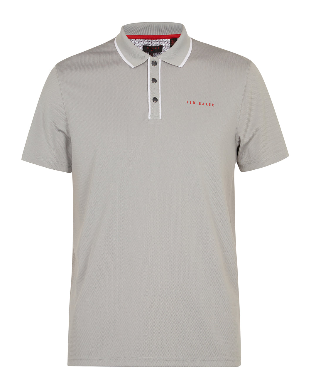 Ted Baker Bunka Polo - Light Grey