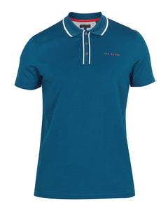 Ted Baker Bunka Polo - Teal Blue