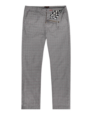 Ted Baker Snoopd Checked Trouser - Grey