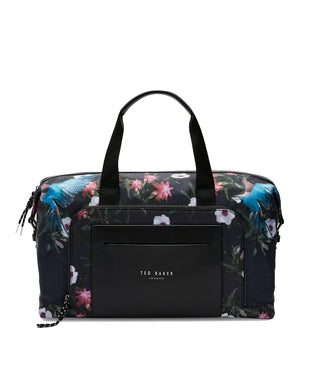Ted Baker Hack Printed Holdall - Navy