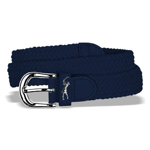 Surprizeshop Stretch Webbing Belt - Navy