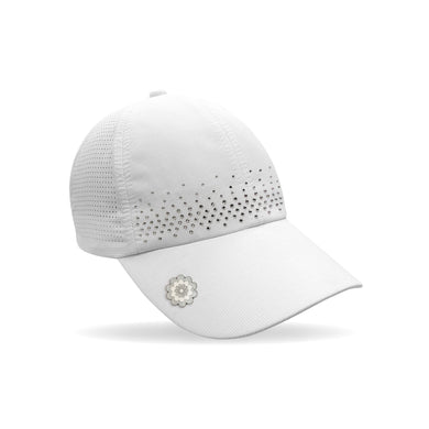 Surprizeshop Crystal Magnetic Cap - White