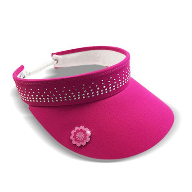 Surprizeshop Crystal Visor - Pink