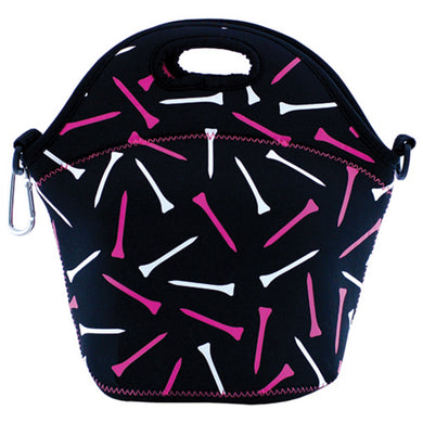 Surprizeshop Golf Tees Lunch Bag - Black
