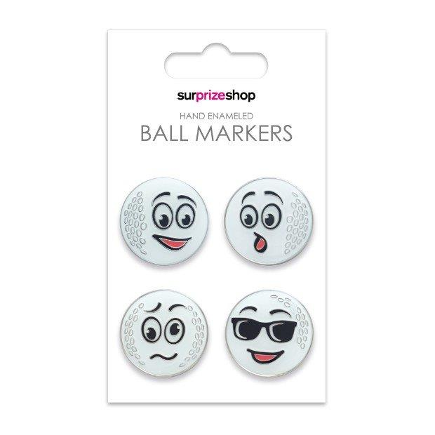 Surprizeshop Funny Ole' Game Ball Marker Set - Multi