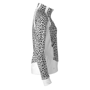 Daily Sports Jocelyn Jacket - White/Black Animal Print