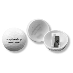 Surprizeshop Golf Ball Pencil Sharpener - White