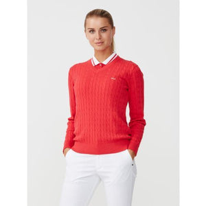 Rohnisch Cable Pullover - Red