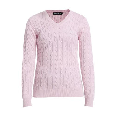 Rohnisch Cable Pullover - Light Pink