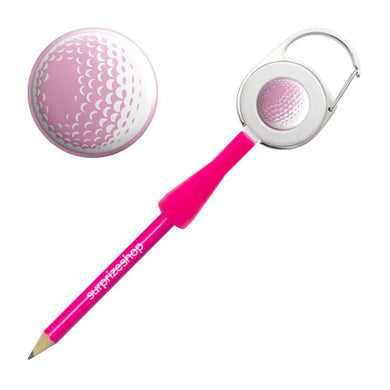 Surprizeshop Golf Ball Retractable Pencil - Pink