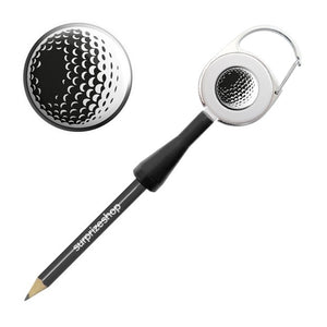 Surprizeshop Golf Ball Retractable Pencil - Black
