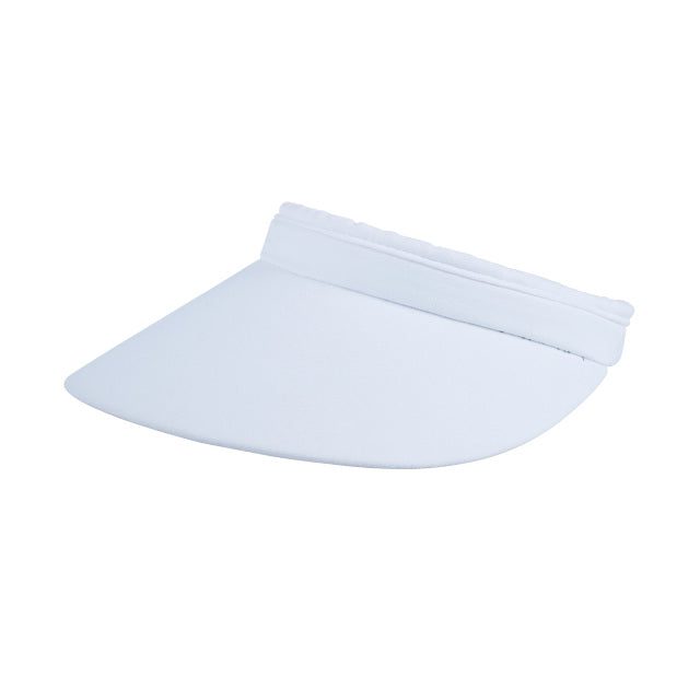 Daily Sports Magic Clip Visor - White