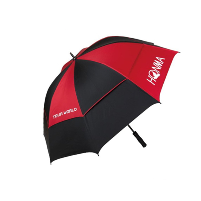 Honma Tour Umbrella - Black/Red