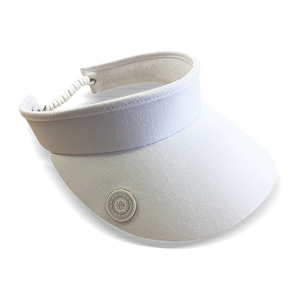Surprizeshop Adjustable Visor - White