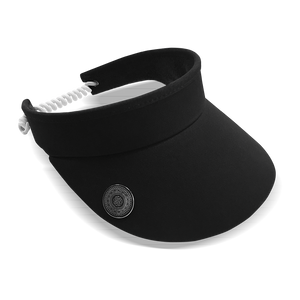Surprizeshop Adjustable Visor - Black