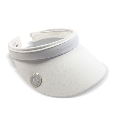 Surprizeshop Clip Visor - White