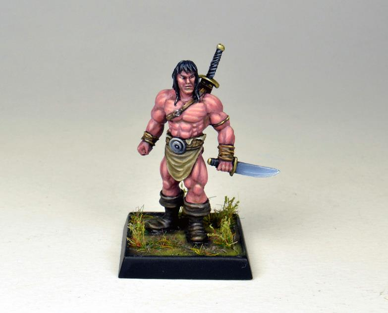 Barbarian Hillman Chief (Promo only miniature)