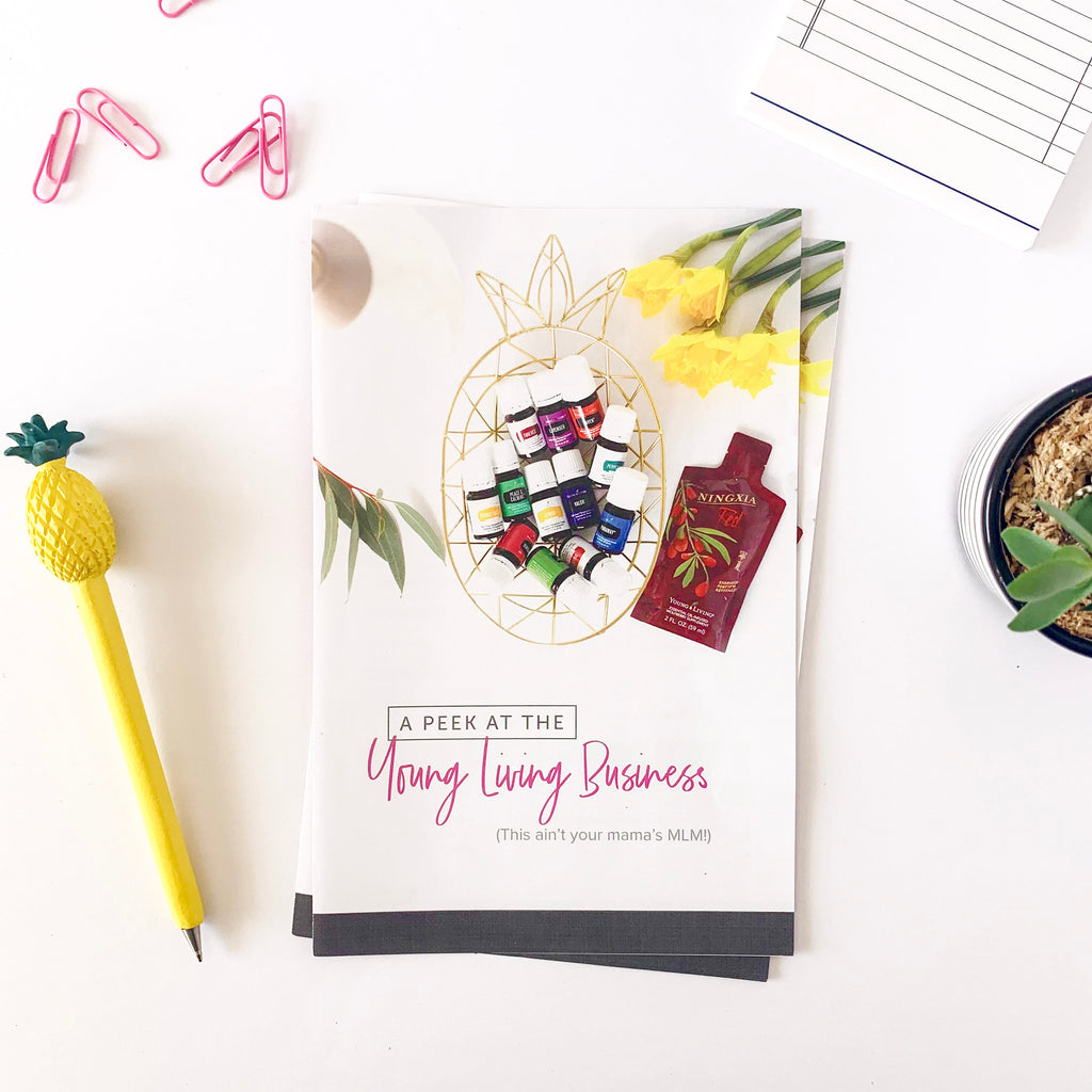 A Peek at the Young Living Business - 25 pack